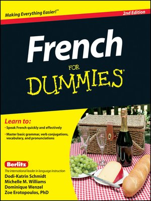 cover image of French For Dummies