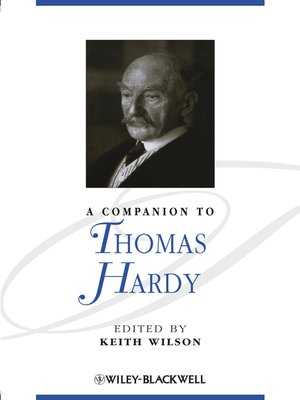 cover image of A Companion to Thomas Hardy