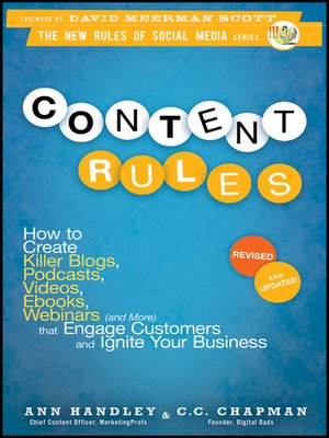 cover image of Content Rules