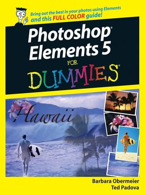 cover image of Photoshop Elements 5 For Dummies