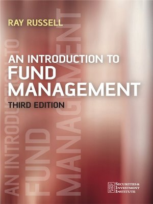 cover image of An Introduction to Fund Management