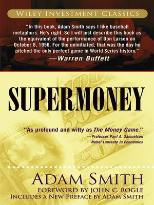 cover image of Supermoney