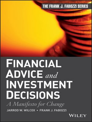 cover image of Financial Advice and Investment Decisions