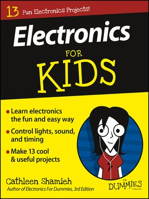 cover image of Electronics for Kids for Dummies