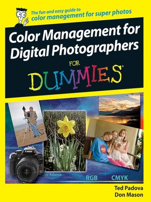 cover image of Color Management for Digital Photographers For Dummies