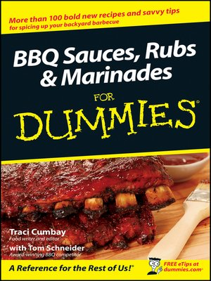 cover image of BBQ Sauces, Rubs & Marinades For Dummies®