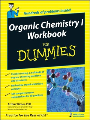 cover image of Organic Chemistry I Workbook For Dummies®