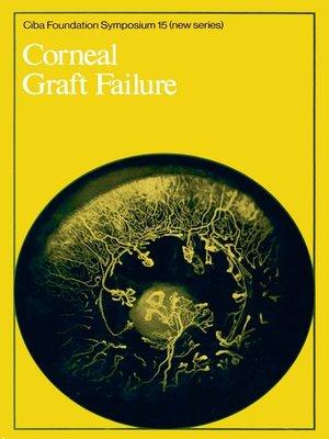cover image of Corneal Graft Failure