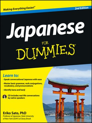 cover image of Japanese For Dummies