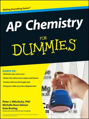 cover image of AP Chemistry For Dummies®