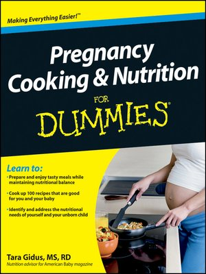 cover image of Pregnancy Cooking and Nutrition For Dummies
