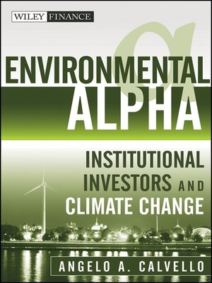 cover image of Environmental Alpha