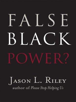 cover image of False Black Power?