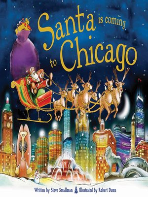 cover image of Santa Is Coming to Chicago