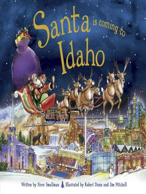 cover image of Santa Is Coming to Idaho