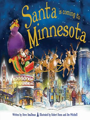 cover image of Santa Is Coming to Minnesota