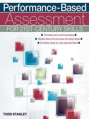 cover image of Performance-Based Assessment for 21st-Century Skills