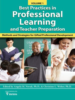 cover image of Best Practices in Professional Learning and Teacher Preparation in Gifted Education (Volume 1)