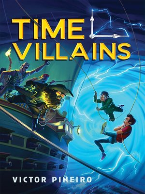 cover image of Time Villains Series, Book 1