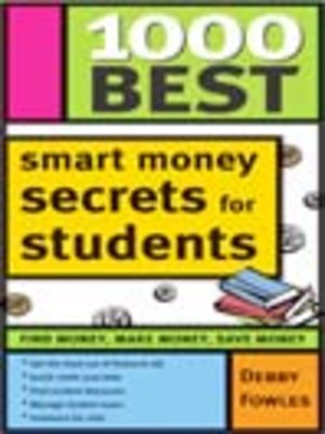 cover image of 1000 Best Smart Money Secrets for Students
