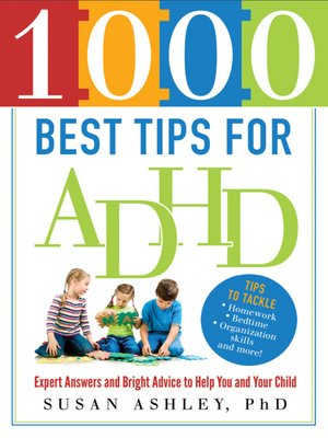cover image of 1000 Best Tips for ADHD