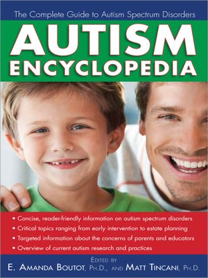 cover image of Autism Encyclopedia