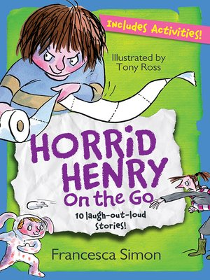 cover image of Horrid Henry On the Go