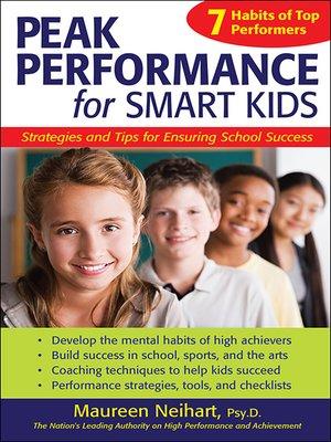 cover image of Peak Performance for Smart Kids