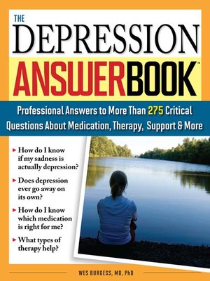 cover image of The Depression Answer Book