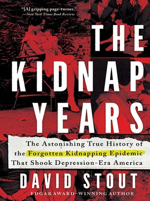 cover image of The Kidnap Years
