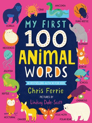 cover image of My First 100 Animal Words