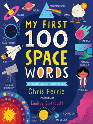 cover image of My First 100 Space Words