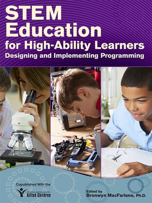 cover image of STEM Education for High-Ability Learners
