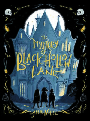 cover image of The Mystery of Black Hollow Lane