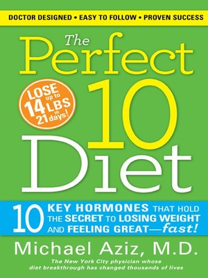 cover image of The Perfect 10 Diet