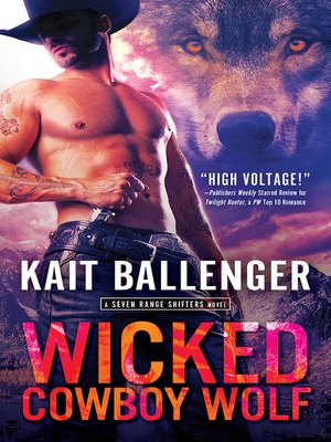 cover image of Wicked Cowboy Wolf
