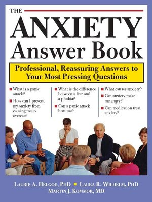 cover image of The Anxiety Answer Book