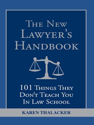 cover image of The New Lawyer's Handbook