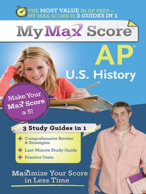 cover image of My Max Score AP U.S. History