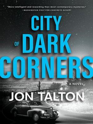 cover image of City of Dark Corners