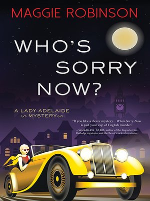 cover image of Who's Sorry Now?