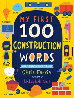 cover image of My First 100 Construction Words
