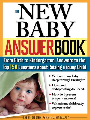 cover image of The New Baby Answer Book