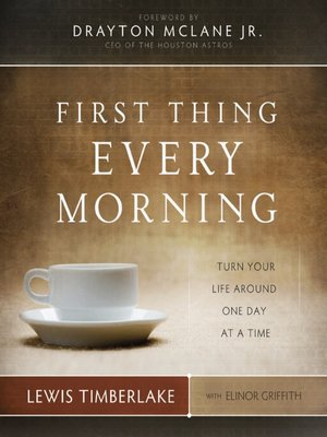 cover image of First Thing Every Morning