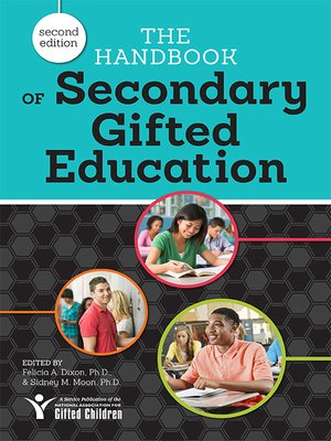 cover image of The Handbook of Secondary Gifted Education