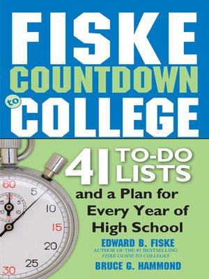 cover image of Fiske Countdown to College