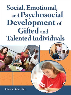 cover image of Social, Emotional, and Psychosocial Development of Gifted and Talented Individuals
