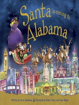cover image of Santa Is Coming to Alabama