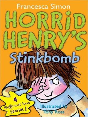 cover image of Horrid Henry's Stinkbomb
