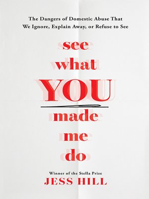 cover image of See What You Made Me Do